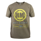 Rocky Mountain ATV/MC Blur T-Shirt Army Green