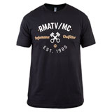 Rocky Mountain ATV/MC Vintage T-Shirt Black
