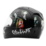 "Rockhard Slipknot ""Nine"" Full-Face Motorcycle Helmet"
