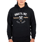 Rocky Mountain ATV/MC Vintage Hooded Sweatshirt Black