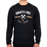 Rocky Mountain ATV/MC Vintage Long Sleeve T-Shirt Black
