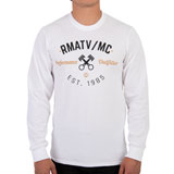 Rocky Mountain ATV/MC Vintage Long Sleeve T-Shirt White
