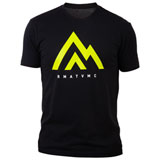 Rocky Mountain ATV/MC The Mountain T-Shirt Black/Green