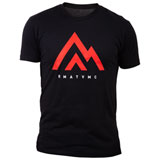 Rocky Mountain ATV/MC The Mountain T-Shirt Black/Red