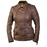 Roland Sands Design Oxford Leather Ladies Motorcycle Jacket