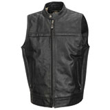 Roland Sands Design Colt Leather Motorcycle Vest