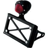 Roland Sands Design Tracker Tail Light with Horizontal License Plate Holder Shock Mount