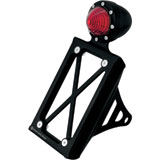 Roland Sands Design Tracker Tail Light with Vertical License Plate Holder Shock Mount