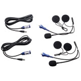 Rugged Radios 2-Pack Offroad Helmet Kits