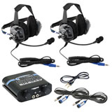 Rugged Radios RRP660 Plus 2 Place Intercom System with BTU Headsets
