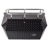 Ryfab Aluminum Cargo Box with Top Rack