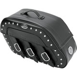 Saddlemen Desperado S4 Rigid Mount Saddlebags with LED Marker Lights
