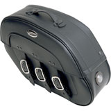 Saddlemen Drifter S4 Rigid Mount Saddlebags with LED Marker Lights