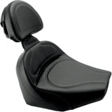 Saddlemen Renegade Solo Seat with Driver's Backrest