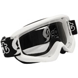 Scott Youth Agent Goggle White