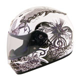 Scorpion EXO-R410 Orchid Ladies Motorcycle Helmet