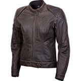 Scorpion Women's Catalina Leather Motorcycle Jacket