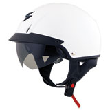 Scorpion EXO-C110 Open-Face Motorcycle Helmet White
