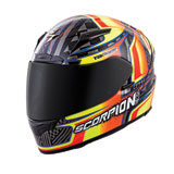 Scorpion EXO-R2000 Tagger Ensenada Motorcycle Helmet