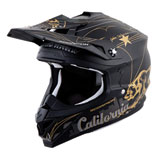 Scorpion VX-35 Golden State Helmet Black