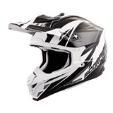 Scorpion VX-35 Krush Helmet White/Black
