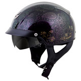 Scorpion Women's EXO-C110 Azalea Helmet Black/Gold