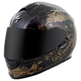 Scorpion Women's EXO-T510 Azalea Helmet Black/Gold