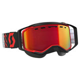 Scott Prospect SnowCross Goggle  Red-Black Frame/Amplifier Red Chrome Lens