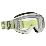 Scott Recoil Xi Goggle Beige-Brown Frame/Clear Works Lens