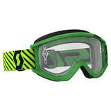 Scott Recoil Xi Goggle Green-Yellow Frame/Clear Works Lens