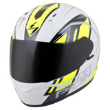 Scorpion EXO-R320 Endeavor Helmet White/Hi-Viz Yellow