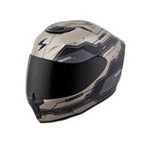 Scorpion EXO-R420 Techno Helmet Titanium/Black