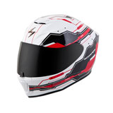 Scorpion EXO-R420 Techno Helmet White/Red