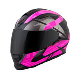 Scorpion EXO-T510 Fury Helmet Black/Pink