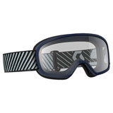 Scott Youth Buzz Goggle Blue Frame/Clear Lens