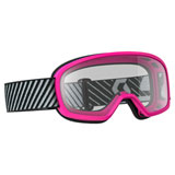 Scott Youth Buzz Goggle Pink Frame/Clear Lens