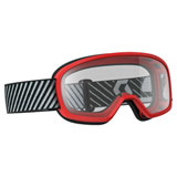 Scott Youth Buzz Goggle Red Frame/Clear Lens