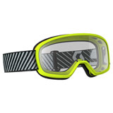 Scott Youth Buzz Goggle Yellow Frame/Clear Lens