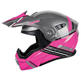 Scorpion EXO-AT950 Teton Cold Weather Modular Helmet Pink/Grey
