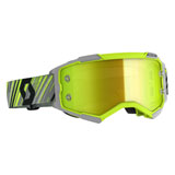 Scott Fury Goggle Yellow-Grey Frame/Yellow Chrome Lens