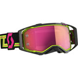 Scott Prospect Goggle Black-Yellow Frame/Pink Chrome Lens