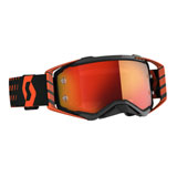 Scott Prospect Goggle Orange-Black Frame/Orange Chrome Lens