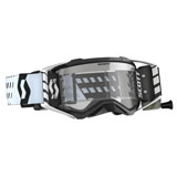 Scott Prospect WFS Goggle Black-White Frame/Clear Works Lens