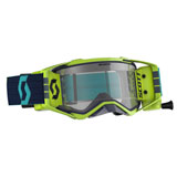 Scott Prospect WFS Goggle Blue-Yellow Frame/Clear Works Lens