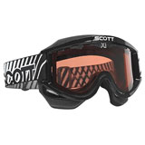 Scott 87 OTG SnowCross No Fog Fan System Black