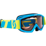 Scott Youth 89Si SnowCross Goggle Blue-Green Frame/Amplifier Rose ACS Lens