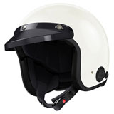 Sena Savage Bluetooth Open Face Helmet Gloss White