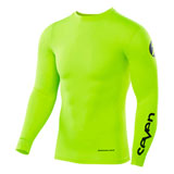 Seven Zero Blade Compression Jersey Flo Yellow