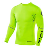 Seven Zero Blade Laser Cut Compression Jersey Flo Yellow
