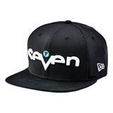 Seven Youth Brand Snapback Hat Black/Aqua